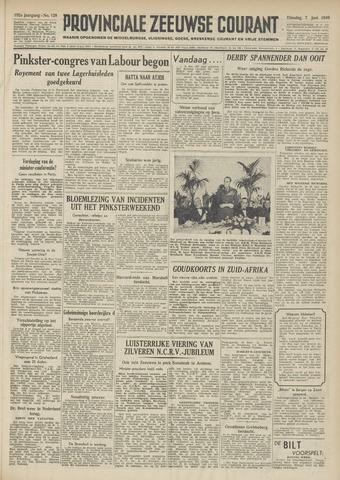 Provinciale Zeeuwse Courant 1949-06-07