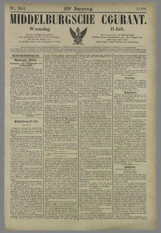 Middelburgsche Courant 1888-07-11
