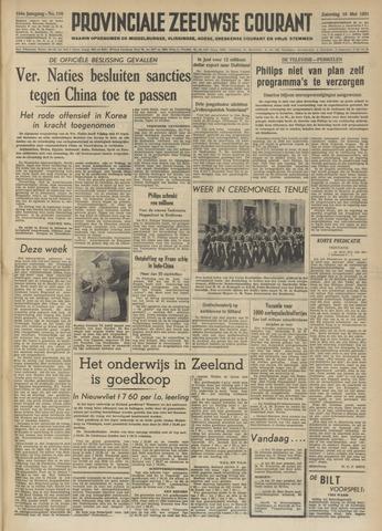 Provinciale Zeeuwse Courant 1951-05-19