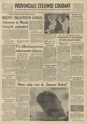 Provinciale Zeeuwse Courant 1959-01-26
