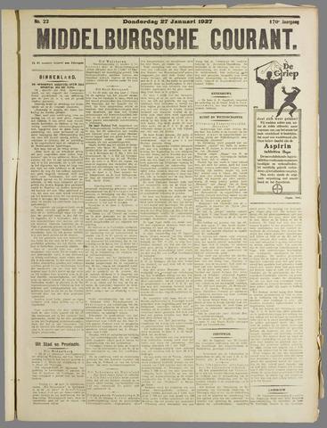Middelburgsche Courant 1927-01-27
