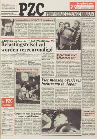 Provinciale Zeeuwse Courant 1985-08-14