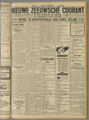Nieuwe Zeeuwsche Courant 1927-11-26