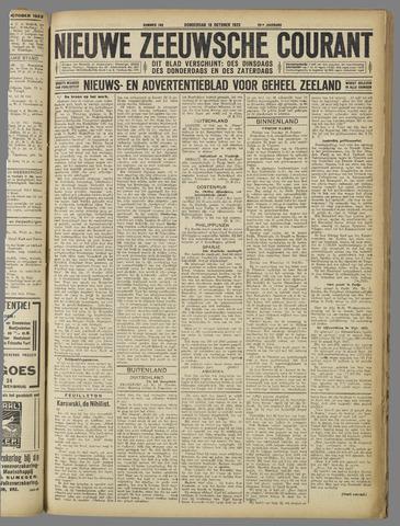 Nieuwe Zeeuwsche Courant 1923-10-18