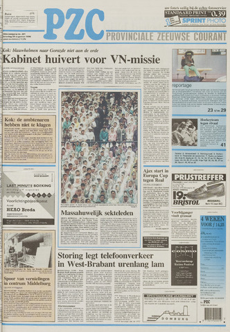 Provinciale Zeeuwse Courant 1995-08-26