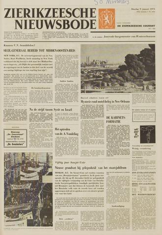 Zierikzeesche Nieuwsbode 1973-01-09