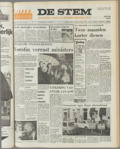 de Stem 1974-09-20