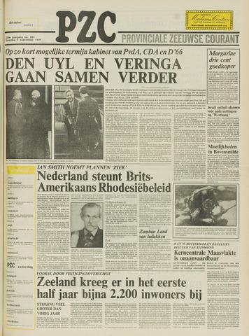 Provinciale Zeeuwse Courant 1977-09-03