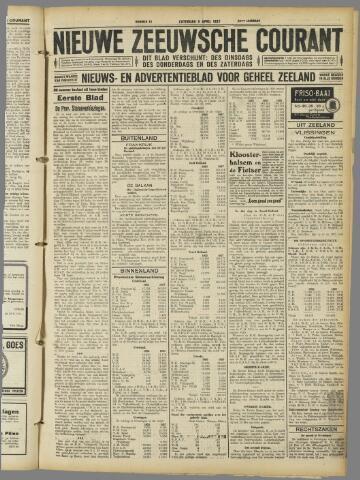 Nieuwe Zeeuwsche Courant 1927-04-09