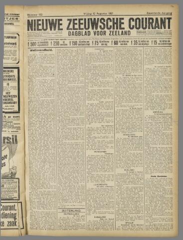 Nieuwe Zeeuwsche Courant 1921-08-12