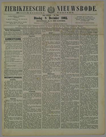 Zierikzeesche Nieuwsbode 1903-12-08