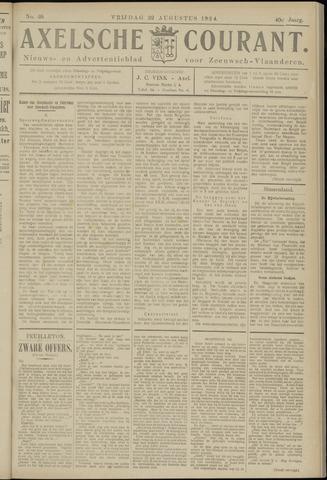 Axelsche Courant 1924-08-22