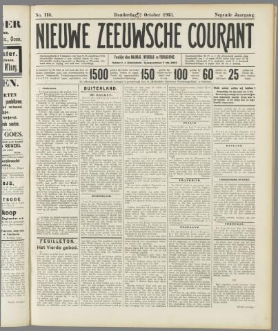 Nieuwe Zeeuwsche Courant 1913-10-02