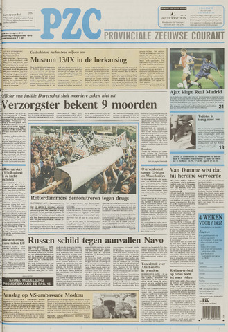 Provinciale Zeeuwse Courant 1995-09-14
