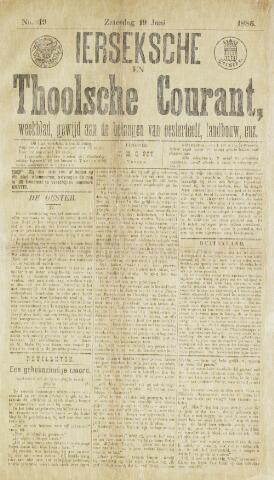 Ierseksche en Thoolsche Courant 1886-06-19