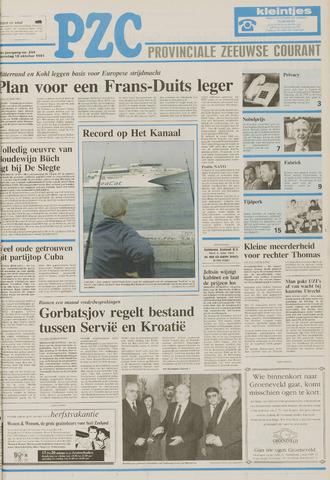Provinciale Zeeuwse Courant 1991-10-16