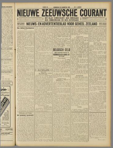 Nieuwe Zeeuwsche Courant 1930-08-21
