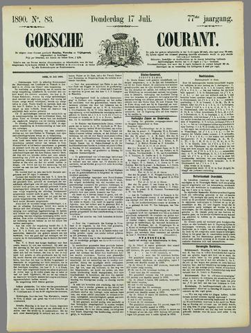 Goessche Courant 1890-07-17