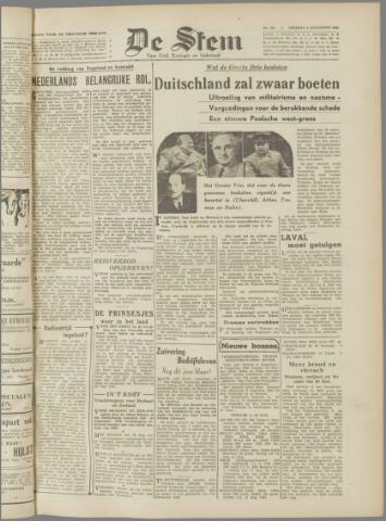 de Stem 1945-08-03