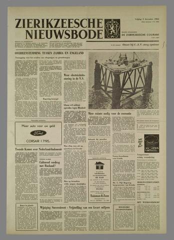 Zierikzeesche Nieuwsbode 1965-12-03
