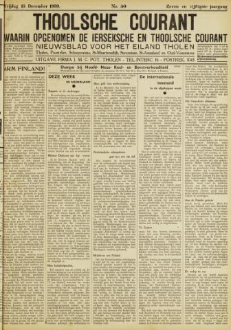 Ierseksche en Thoolsche Courant 1939-12-15