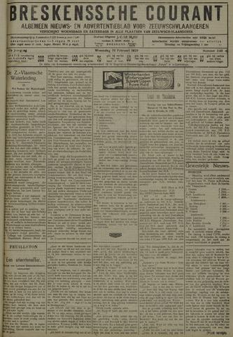 Breskensche Courant 1929-02-20