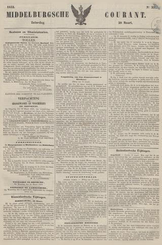 Middelburgsche Courant 1852-03-20