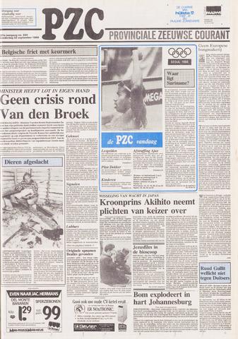 Provinciale Zeeuwse Courant 1988-09-22