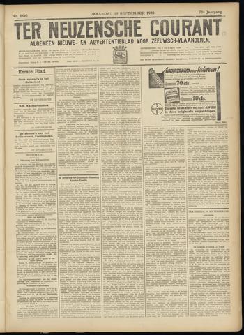 Ter Neuzensche Courant. Algemeen Nieuws- en Advertentieblad voor Zeeuwsch-Vlaanderen / Neuzensche Courant ... (idem) / (Algemeen) nieuws en advertentieblad voor Zeeuwsch-Vlaanderen 1932-09-19