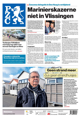 Provinciale Zeeuwse Courant 2020-02-12