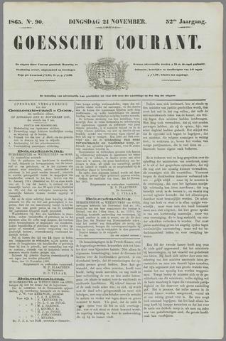 Goessche Courant 1865-11-21