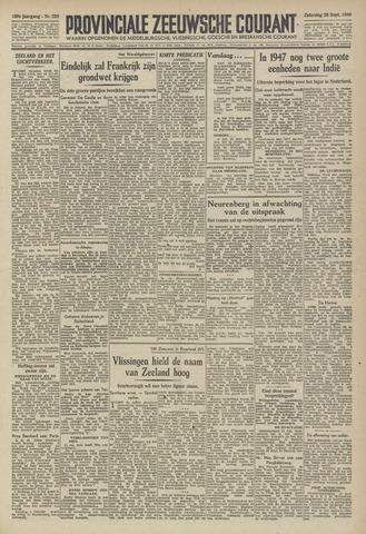 Provinciale Zeeuwse Courant 1946-09-28