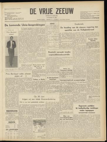 de Vrije Zeeuw 1954-06-29