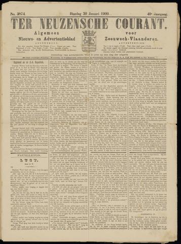 Ter Neuzensche Courant. Algemeen Nieuws- en Advertentieblad voor Zeeuwsch-Vlaanderen / Neuzensche Courant ... (idem) / (Algemeen) nieuws en advertentieblad voor Zeeuwsch-Vlaanderen 1900-01-30