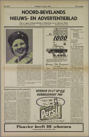 Noord-Bevelands Nieuws- en advertentieblad 1962-01-27