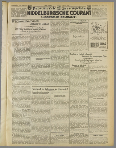 Middelburgsche Courant 1939-09-21