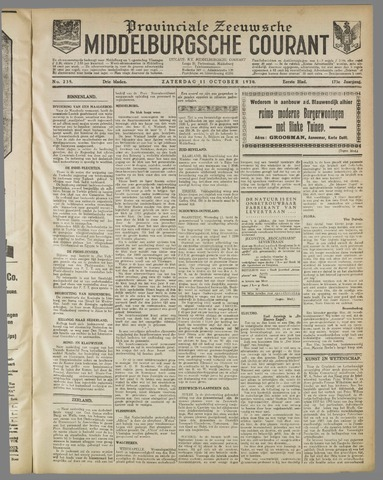 Middelburgsche Courant 1930-10-11