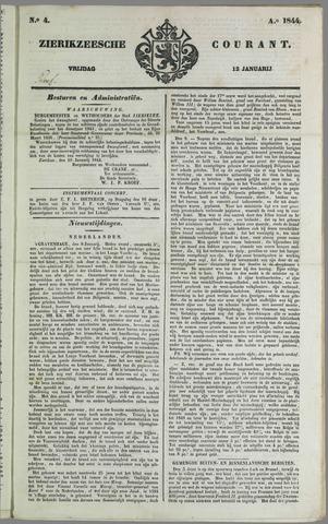 Zierikzeesche Courant 1844-01-12