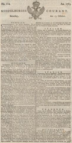 Middelburgsche Courant 1763-10-15