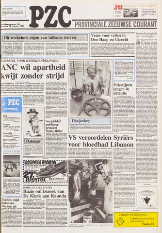 Provinciale Zeeuwse Courant 1989-08-12