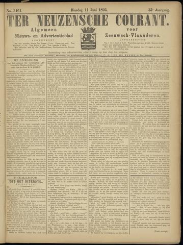 Ter Neuzensche Courant. Algemeen Nieuws- en Advertentieblad voor Zeeuwsch-Vlaanderen / Neuzensche Courant ... (idem) / (Algemeen) nieuws en advertentieblad voor Zeeuwsch-Vlaanderen 1895-06-11