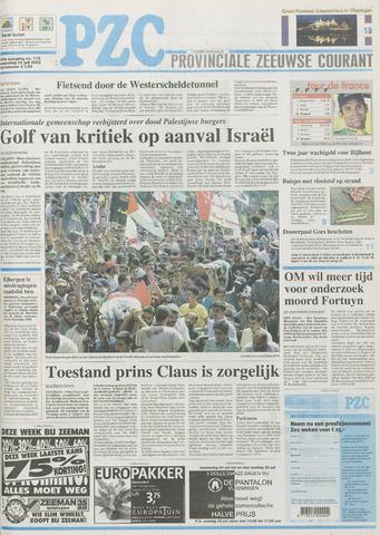 Provinciale Zeeuwse Courant 2002-07-24