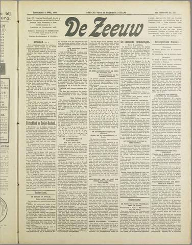 De Zeeuw. Christelijk-historisch nieuwsblad voor Zeeland 1937-04-08