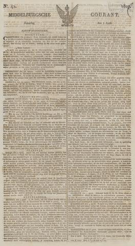 Middelburgsche Courant 1827-04-07