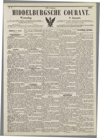 Middelburgsche Courant 1901-01-09