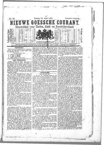 Nieuwe Goessche Courant 1878-04-30