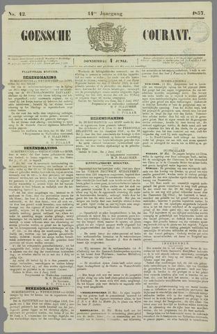 Goessche Courant 1857-06-04
