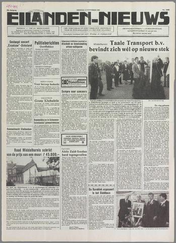 Eilanden-nieuws. Christelijk streekblad op gereformeerde grondslag 1985-11-12