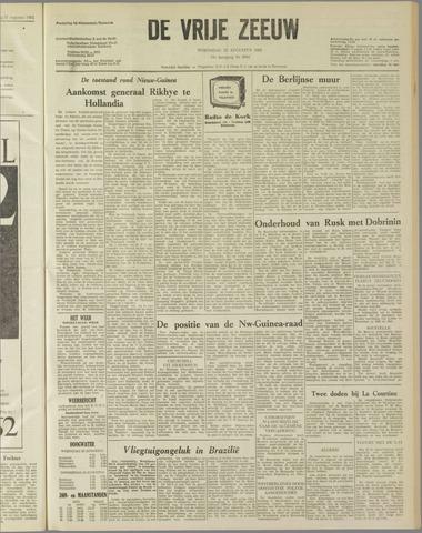de Vrije Zeeuw 1962-08-22