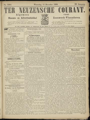 Ter Neuzensche Courant. Algemeen Nieuws- en Advertentieblad voor Zeeuwsch-Vlaanderen / Neuzensche Courant ... (idem) / (Algemeen) nieuws en advertentieblad voor Zeeuwsch-Vlaanderen 1889-12-11